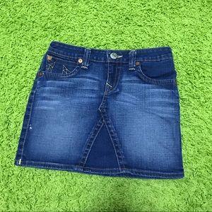 True Religion Girls Denim Skirt